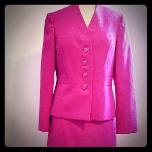 NWT Kasper Pink Skirt Suit